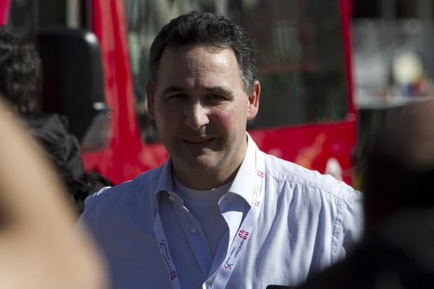 Daniele Albisetti, président Società Atletica Lugano sezione marcia et directeur du Lugano Trophy [Jérôme Genet]