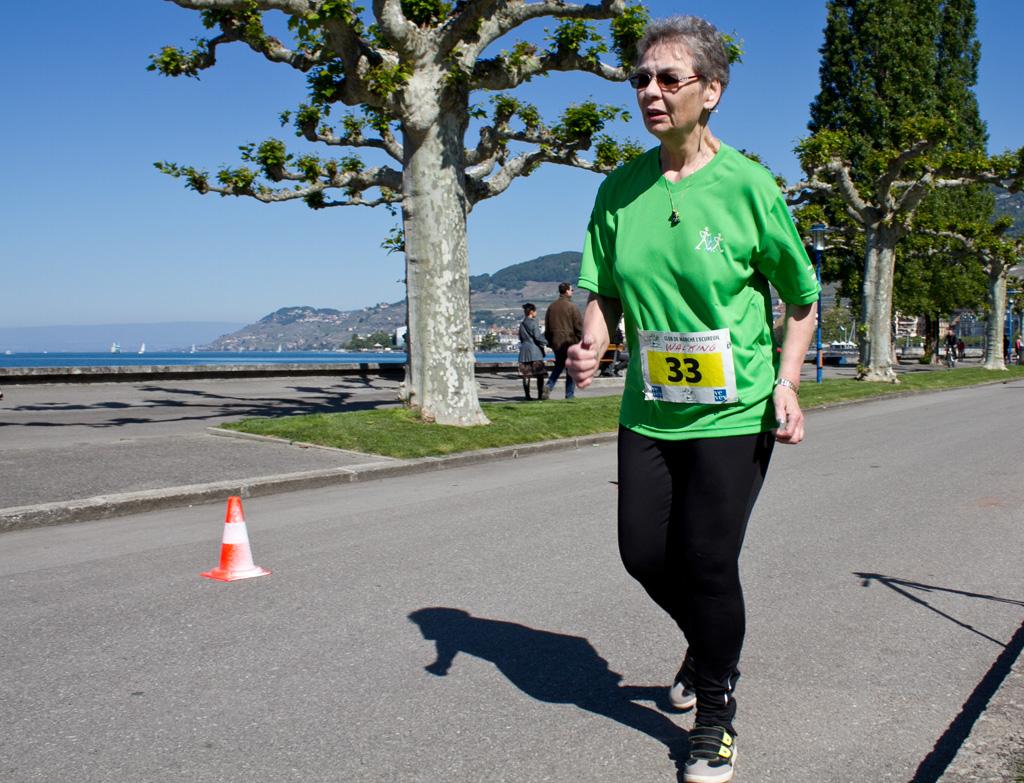 Walking lors des compétitions de marche athlétique, ici à La Tour-de-Peilz (VD) le 18 mai 2014 [J. Genet / FSM]