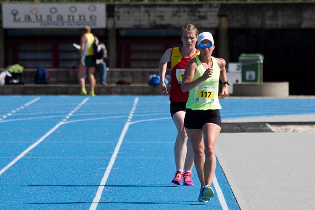 Laura Polli, championne suisse à Lausanne-Vidy le 10 mai 2015 [(c) Jérôme Genet / Swisswalking.org]