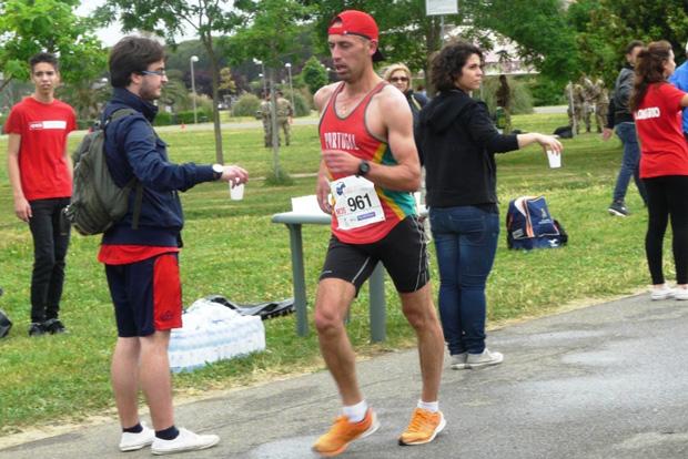 Luis Correia (POR) à Grosetto le 15 mai 2015 sur le 10km [E. Tardi]