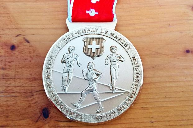 Médaille du championnat suisse de marche [Jérôme Genet]
