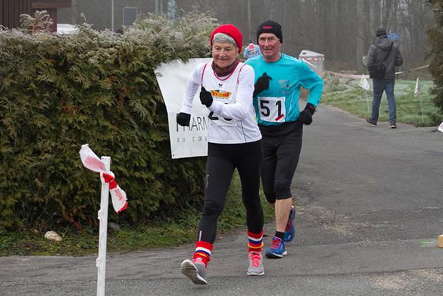 Heidi Maeder à la Coupe de Noël 2015 [Jérôme Genet / Swisswalking]