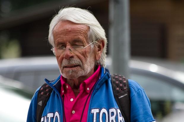 Pietro Pastorini le 4 septembre 2016 à Yverdon-les-Bains [Jérôme Genet / Swiss Walking]