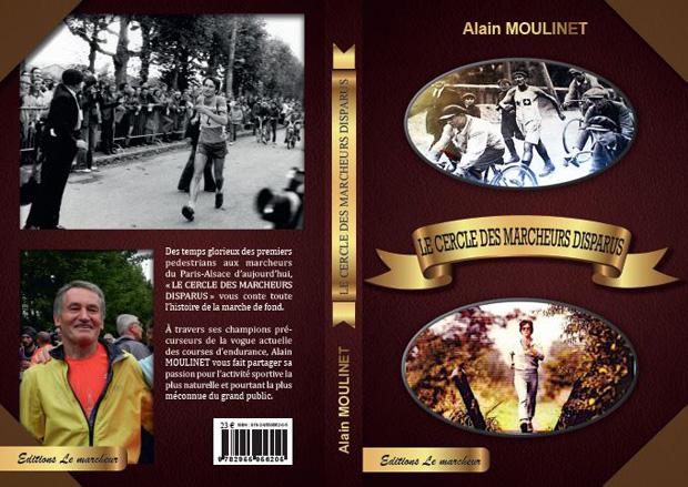 La couverture du livre d'Alain Moulinet, avec notamment la photo du Suisse Jean Linder en haut à droite.