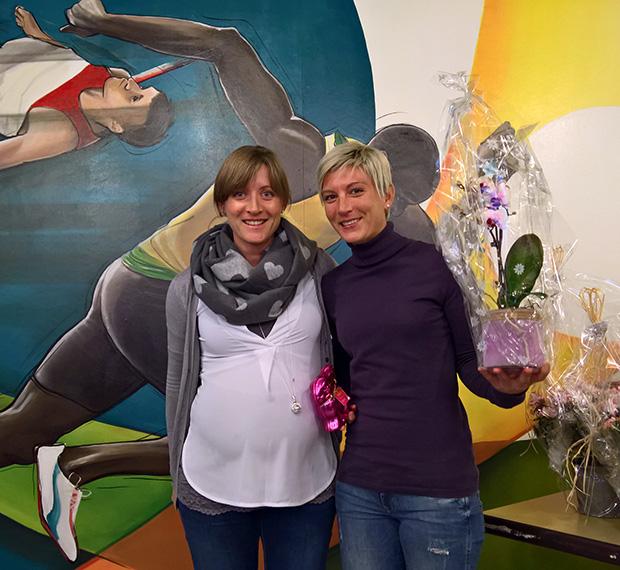 Marie et Laura Polli le 24 février 2018 à Lausanne (Jérôme Genet)